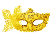 Carnival mask. Isolated on white Royalty Free Stock Photos