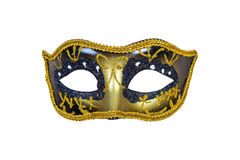 Carnival mask isolated on white background Royalty Free Stock Photography