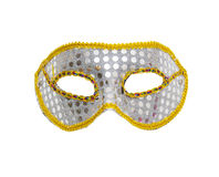 Carnival mask isolated on white background Royalty Free Stock Images