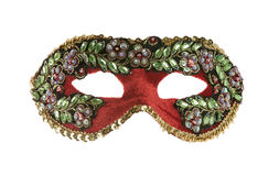 Carnival mask isolated on white background Royalty Free Stock Image