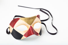 Carnival mask isolated on white background Royalty Free Stock Photos