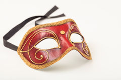 Carnival mask isolated on white background Stock Images