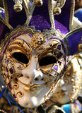 Carnival mask for masquerade during the celebrations in Venice Stock Image