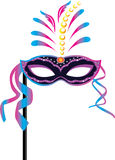 Carnival mask for masquerade costumes Royalty Free Stock Photos