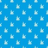 Carnival mask pattern seamless blue. Carnival mask pattern repeat seamless in blue color for any design. Vector geometric illustration vector illustration