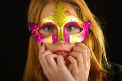 Carnival mask Stock Photography