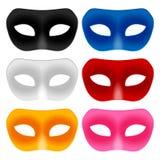 Carnival mask set Royalty Free Stock Image
