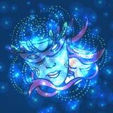 Carnival mask, vector illustration Royalty Free Stock Photo