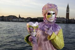 Carnival Mask in Venezia Stock Image