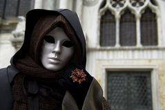 Carnival Mask in Venezia Royalty Free Stock Photo