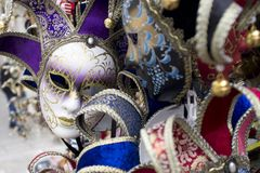 carnival mask venice Stock Photos