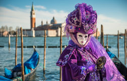 Carnival Mask in Venice Stock Photos