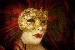 Carnival mask - Venice Stock Image