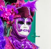 Carnival mask in Venice. The Carnival of Venice is a annual festival held in Venice, Italy. The festival is word famous for its el. Aborate masks royalty free stock photo