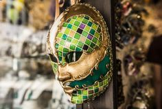 Carnival mask from Venice Stock Photography