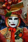 Carnival Mask of Venice Royalty Free Stock Photo