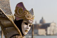 Carnival mask in Venice Italy Stock Images
