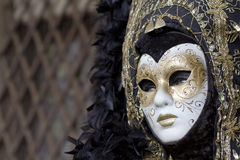 Carnival mask in Venice Italy Royalty Free Stock Photo