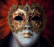 Carnival mask from Venice. Italy stock photos