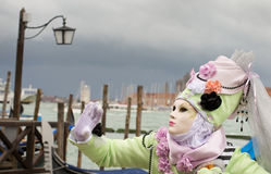 Carnival mask in Venice Stock Photos
