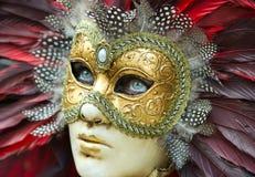 Carnival mask in Venice Stock Photography