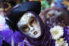 Carnival mask from Venice. Masquerade mask from carnival in Venice Royalty Free Stock Photo