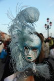 Carnival mask from Venice. Masquerade mask from carnival in Venice Royalty Free Stock Photos