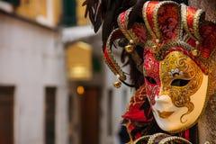 Carnival mask, Venice. Typical carnival mask, in Venice, Veneto, Italy Royalty Free Stock Image