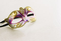 Carnival mask. On white background Stock Images