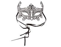 Carnival mask on white background Stock Images