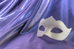 Carnival mask white Stock Photo