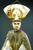 Carnival Masked man Royalty Free Stock Photography