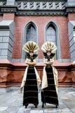 Carnival Masked woman Stock Photo