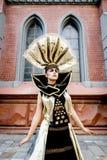 Carnival Masked woman Stock Photos