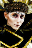 Carnival Masked woman Royalty Free Stock Photography