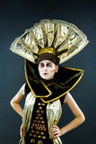 Carnival Masked woman Stock Photography
