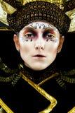 Carnival Masked woman Royalty Free Stock Photo