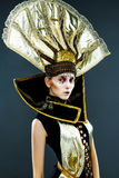 Carnival Masked woman Royalty Free Stock Images