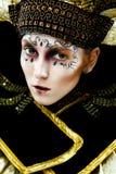 Carnival Masked woman Royalty Free Stock Photos