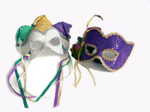 Carnival masks. A pair of carnival mask royalty free stock image