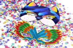 Carnival masks Stock Images