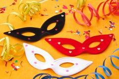 Carnival masks Royalty Free Stock Photos