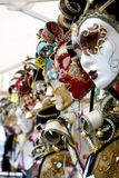 Carnival masks as souvenirs, Venice Royalty Free Stock Photography