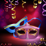 Carnival Masks Background Royalty Free Stock Image