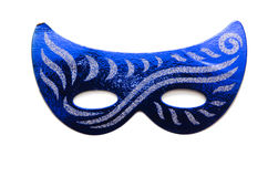 The carnival masks isolated on the white background Royalty Free Stock Images