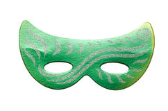 The carnival masks isolated on the white background Royalty Free Stock Photo