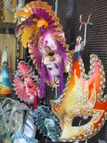Carnival Masks, Italy Stock Images