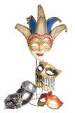 Carnival masks set royalty free stock image