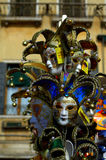 Carnival masks stand  Venice Royalty Free Stock Images