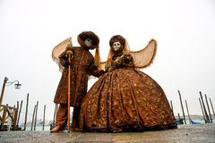 Carnival Masks, Venice. Royalty Free Stock Images